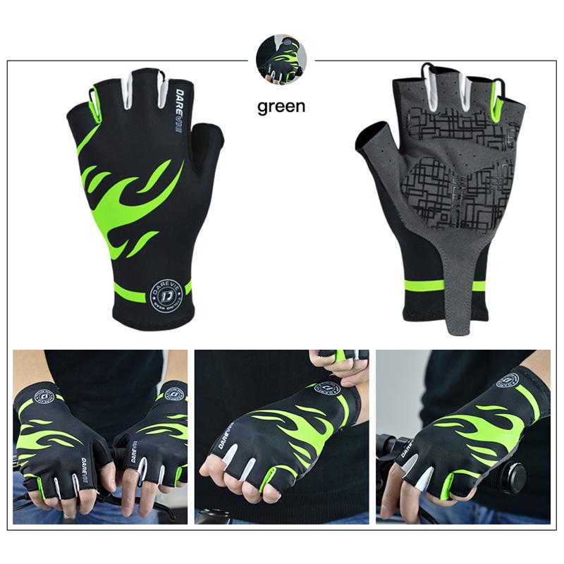 DVG004 Gloves Black Green