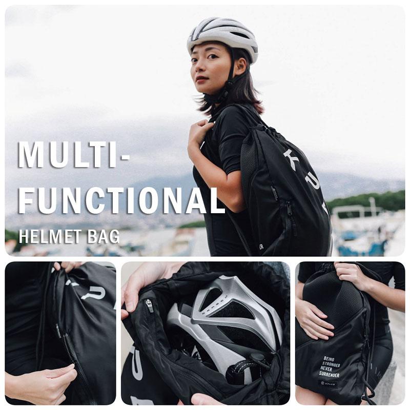 Kplus Multi-Functional Cycling Helmet Bag