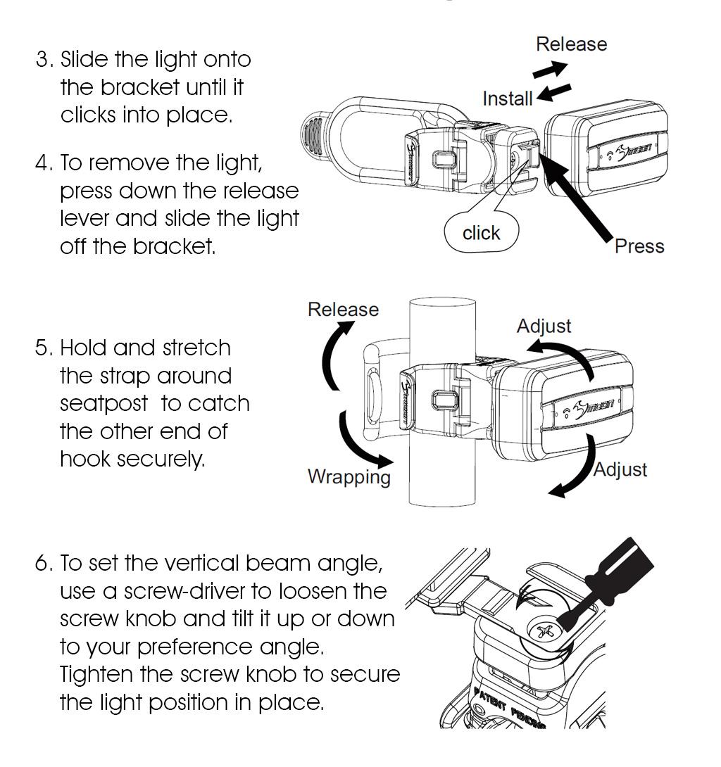 Moon Arcturus Auto Pro Seat Post Bracket