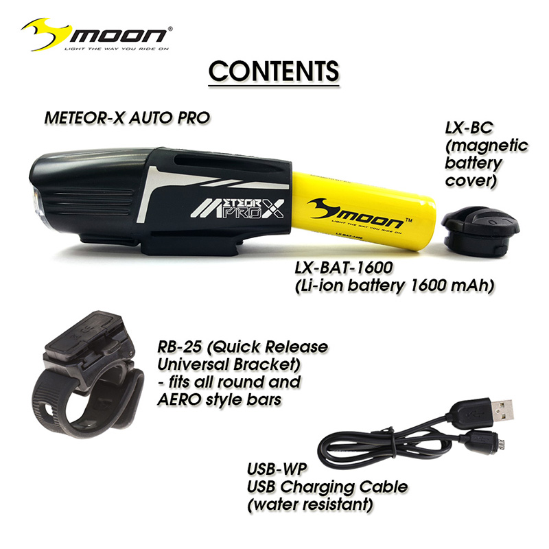 Moon Meteor-X Auto Pro Contents
