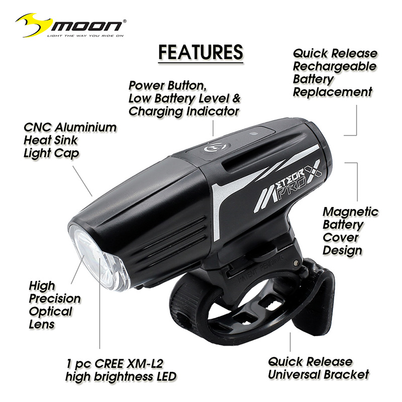 Moon Meteor-X Auto Pro Features