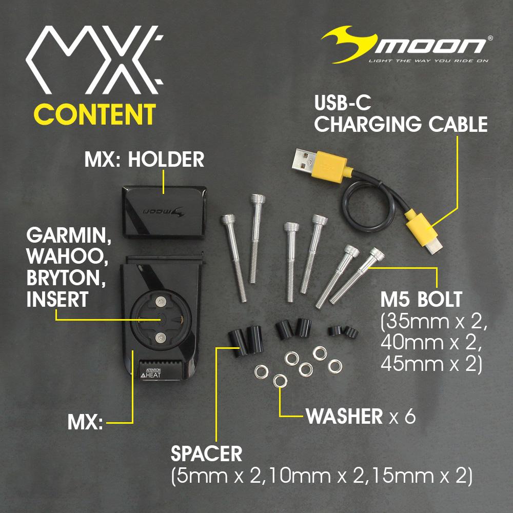 Moon MX: Content