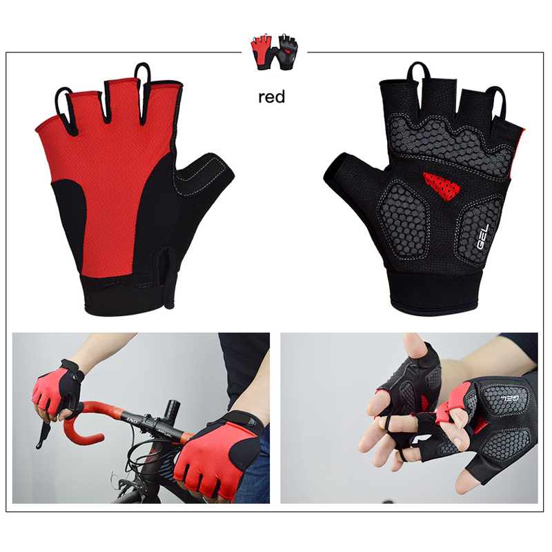 DVG009 Gloves Red